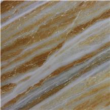 Golden Sun Marble