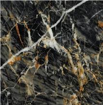 Karacabey Black Gold Marble