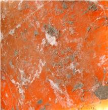 Translucent Orange Alabaster
