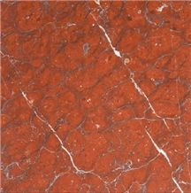 Wealth Red Marble