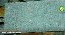 Green Sukabumi Stone Tiles