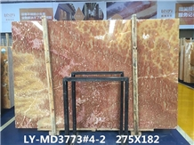 Natural Ruby Red Pacistano Onyx Slabs