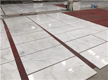 A Grade Polished Oriental White Marble Tiles