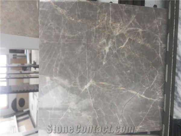 Light Nordic Grey Marble Tiles Slabs Flooring