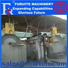 Stone Block Plc Cutting Machine for Granite Cutter
