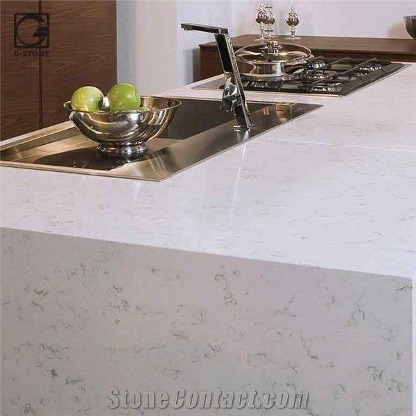 New Fairy White Marble Quartz Countertops From China Stonecontactcom