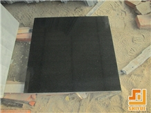 Chinese Absolute Black Granite Tiles Slabs