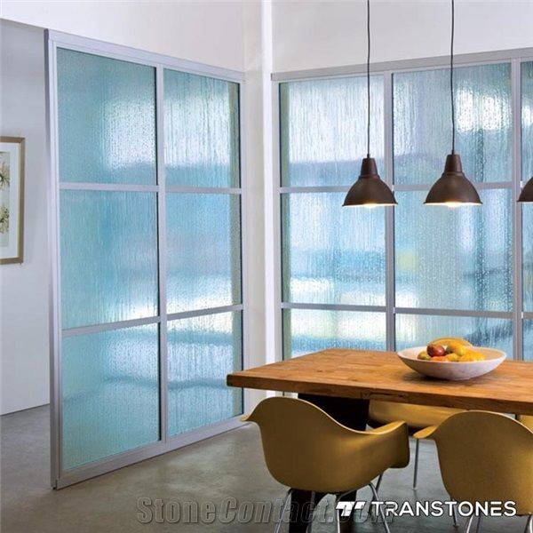 3mm Extruded Clear Acrylic Sheet Backlit Design - Transtones