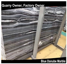 Blue Danube/Blue Gold Sand Marble Tiles&Slabs Polished for Floor Wall