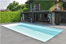 L Altra Pietra Basalt Pool Pavements