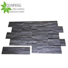 15*60cm China Natural Black Slate Culture Stone