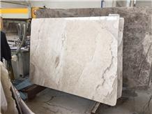 Alya Cream - Akhisar Beige Marble Slabs, Tiles