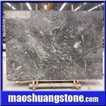 Romantic Grey Marble Slabs, Cheap Grey Marble