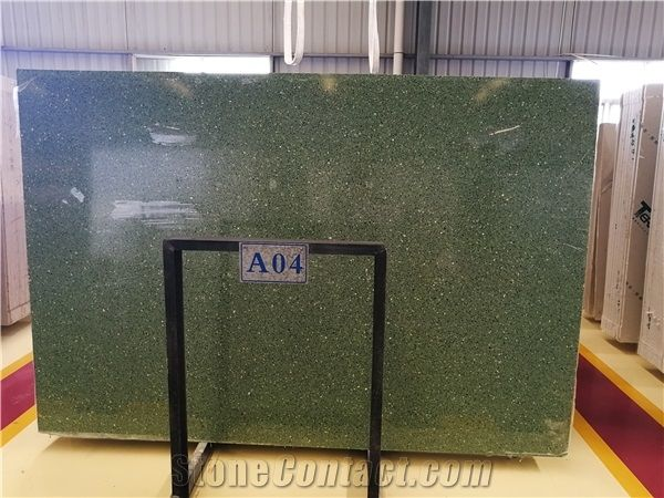 Factory Price Green Terrazzo Ceramic Floor Tile Xiamen
