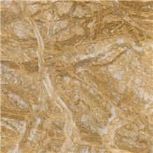 Amber Gold Marble