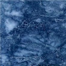 Dark Deep Blue Marble