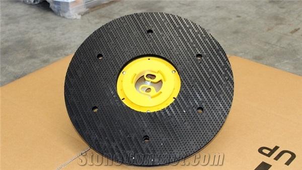 single head driving plate