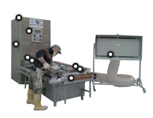 Tower Bench with mobile suction device BS200 PLUS