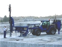 Handydrill Quarry hydraulic drilling mobile unit