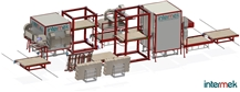 HTR–C Triple tower oven in circle resin line Drying, Catalysing Oven