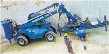 Perfora Handy Maxidrill Quarry hydraulic drilling mobile unit