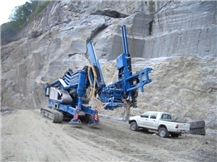 Perfora Skyline Hydraulic drilling application for crane TCM Mod. RTC 70/4