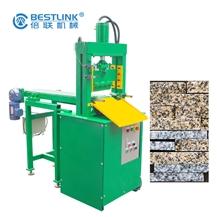 Rough Edges White Marble Wall Stone Strips -Mosaic Chopping Machine