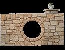 Split Wall Stone
