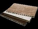 Honeycomb Backed Panels