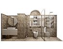 Artificial Stone Bathroom Design