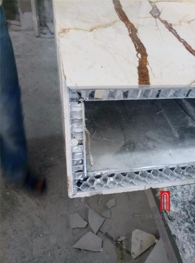 sofitel gold marble aluminium honeycomb table (1).jpg