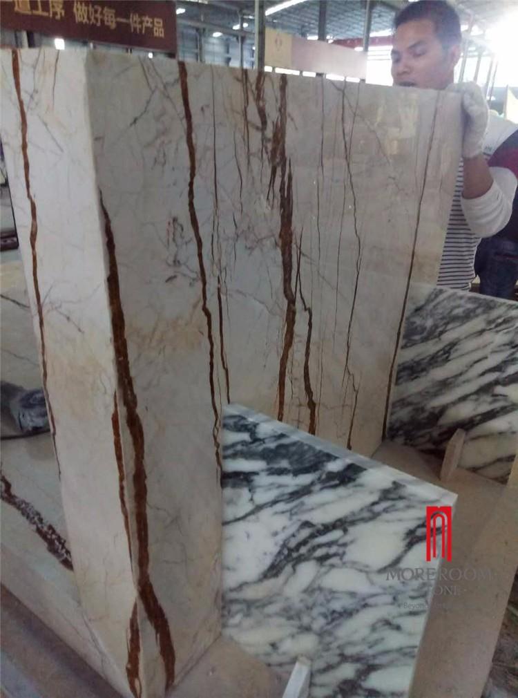 sofitel gold marble aluminium honeycomb table (2).jpg