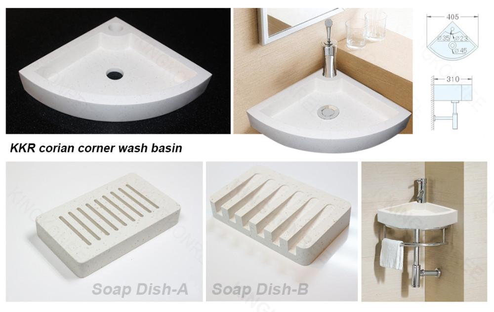 KKR coner wash basin