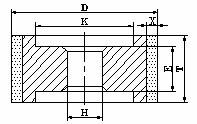Vitrified bond diamond wheel for Precision Grinding of PDC