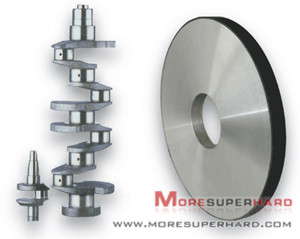 CBN grinding wheel for crankshaft