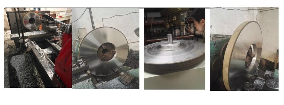resin diamond grinding wheel for thermal spraying alloy