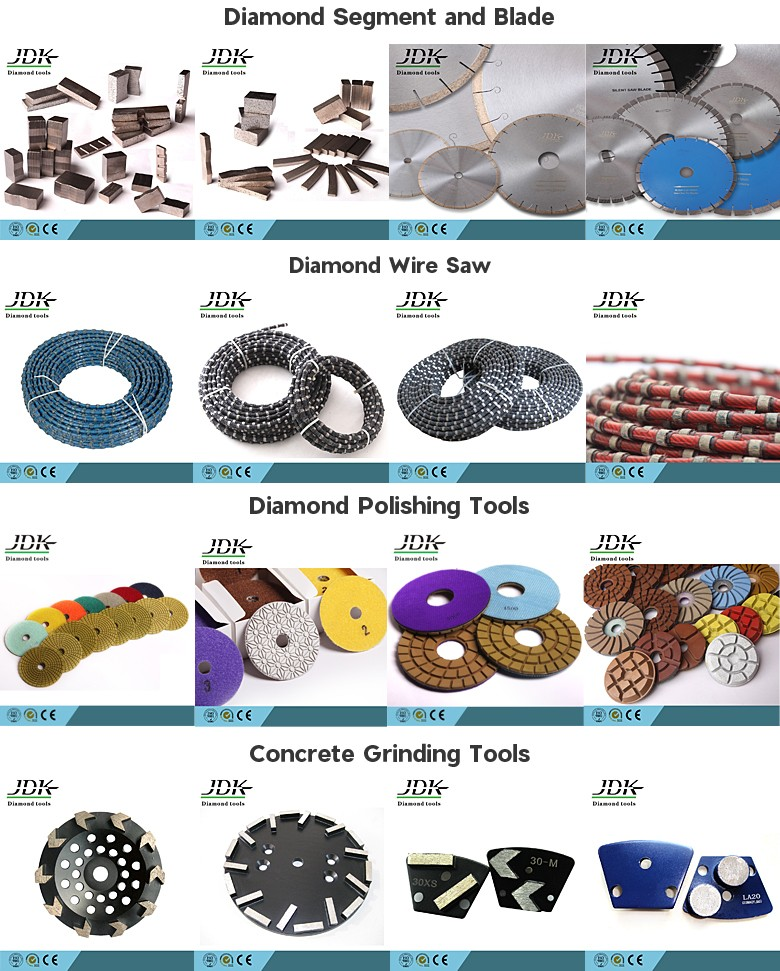 Diamond Finger Bits For Marble And Granite Drilling Tools