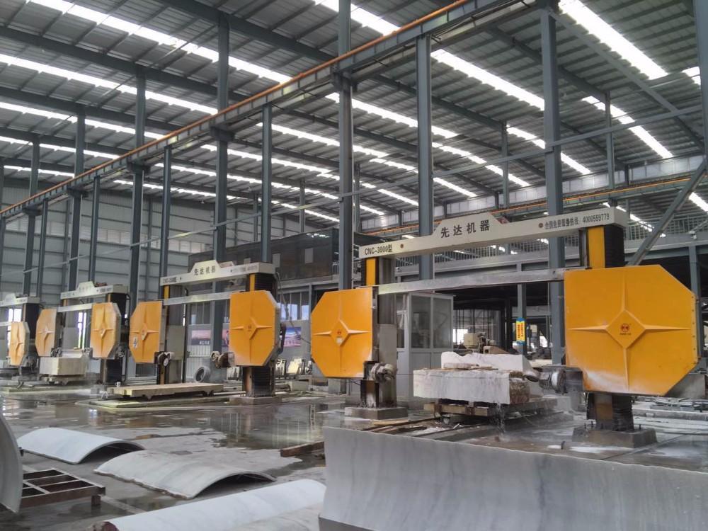 CE Certificated Rotable Worktable Xianda CNC-3000 Diamond Wire Saw Machine