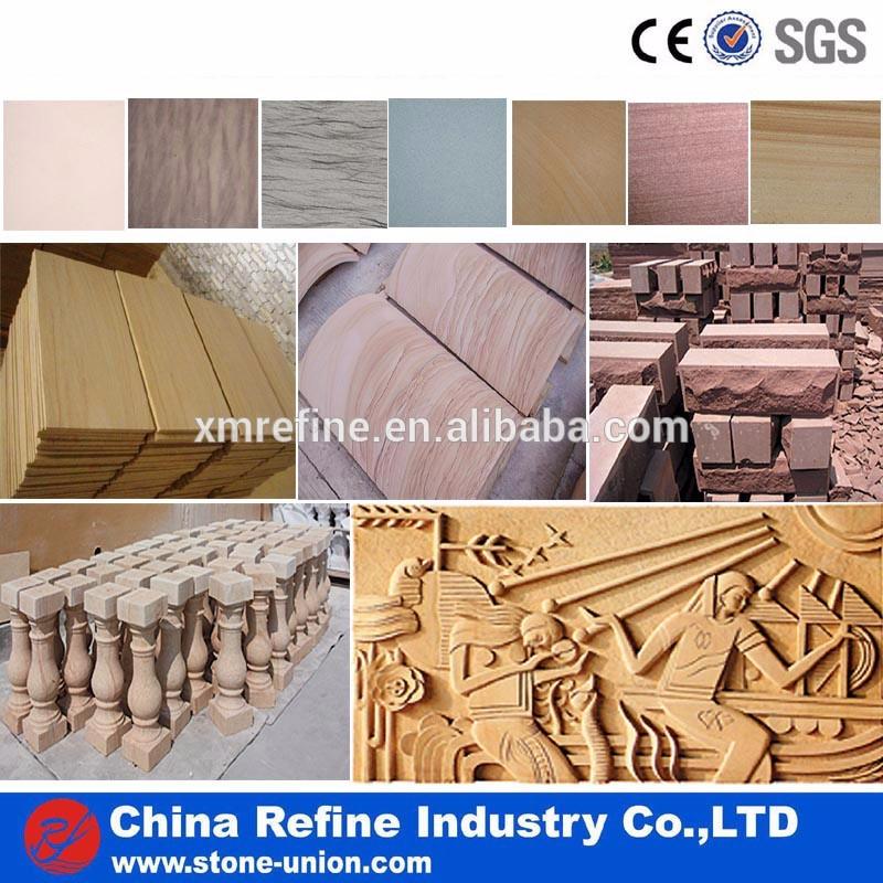 wood sandstone floor tiles and pool coping