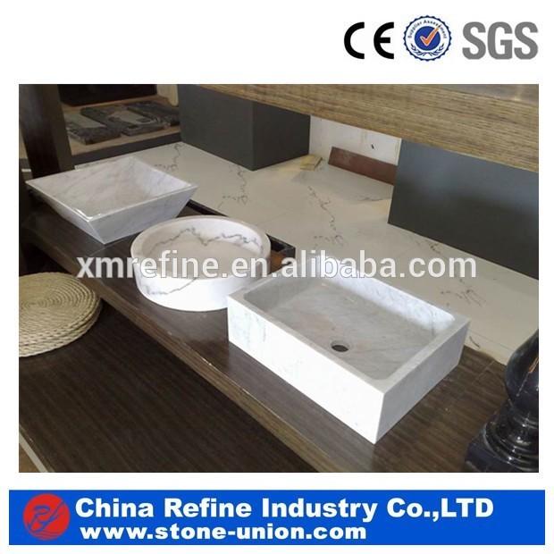 Honey Onyx Vessel Stone Sink
