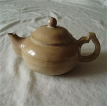Sell Graininess-stone Teapot, Yellow Marble Pots