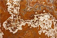 Onice Sultano Tiles, Slabs, Turkey Red Onyx