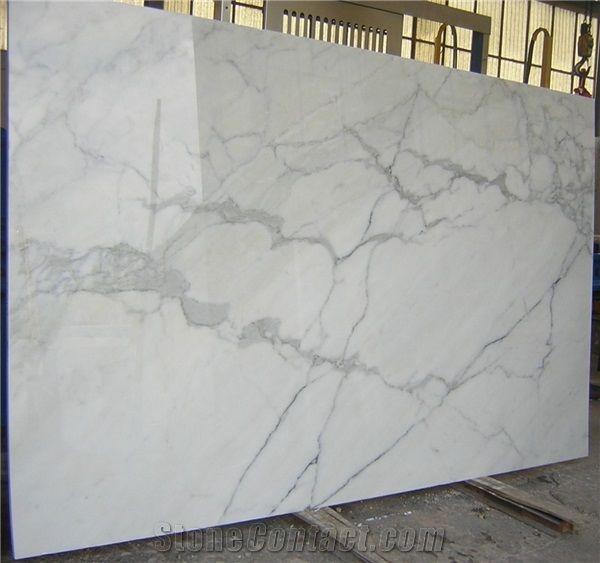 Carrara Calacatta Borghini Large Slabs From Italy