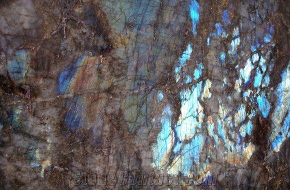 Lemurian Blue Granite Slabs Tiles Madagascar Blue Granite