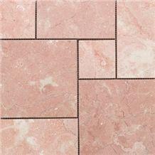 Caspian Pink Marble Pattern