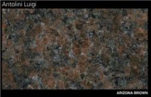 Arizona Brown Granite Slabs & Tiles, Brazil Brown Granite