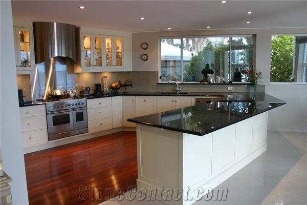 Kitchen Worktop Black Galaxy Granite From Australia