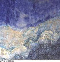 Azul Imperial Quartzite Slabs & Tiles, Brazil Blue Quartzite