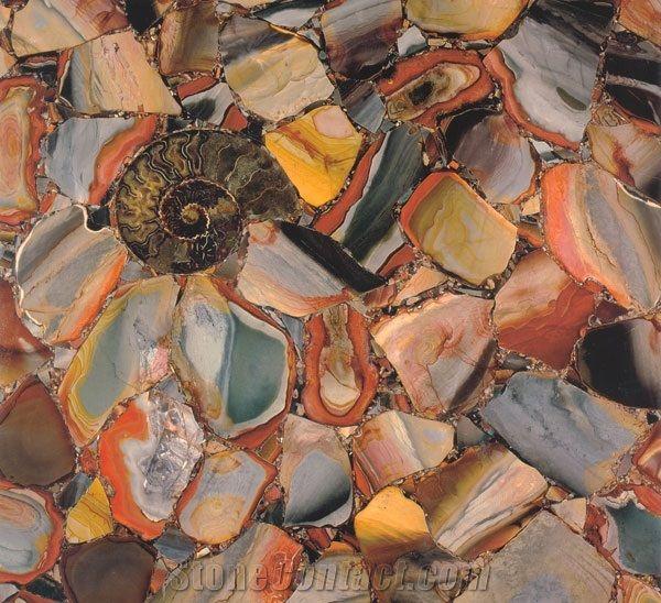 Desert Jasper Semiprecious Stones From Russian Federation