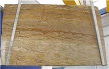 Marron Alhambra Travertine Slab, Iran Brown Travertine
